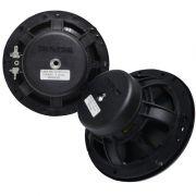 "Alto Falantes Kit 2 Vias 6"" Bravox CS60 BK - 130 Watts RMS (Par) + 60 RMS Mini Tweeter Coluna (Par)"