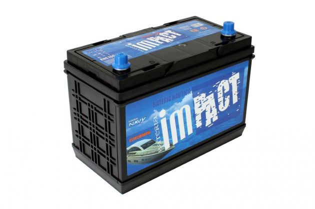 Bateria Impact Náutica Navy RNE 100 100Ah de Serviço/ Estacionária (Livre de Manutenção)