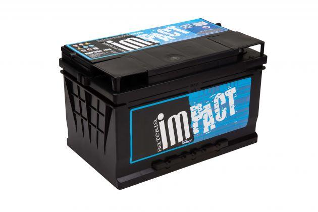 Bateria Impact Náutica Navy RNP 90 90Ah Para Partida (Livre de Manutenção)
