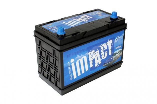Bateria Impact Náutica Navy RNP 105 105Ah Para Partida (Livre de Manutenção)