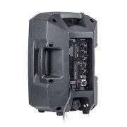 Caixa de Som Amplificada Frahm PS8A BT APP Ativa 100W RMS - Bluetooth, FM, Aux, USB, SD Card