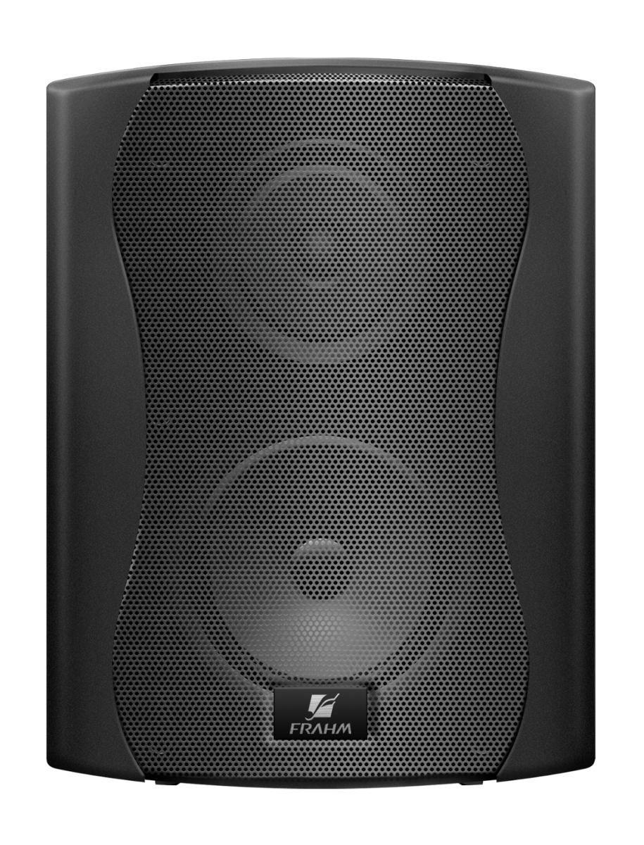 Caixa de Som Acústica Frahm PS5 Plus Branca ou Preta 100W RMS (Par)