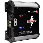 Fonte / Carregador de Bateria Stetsom Infinite 40 Ampéres Digital
