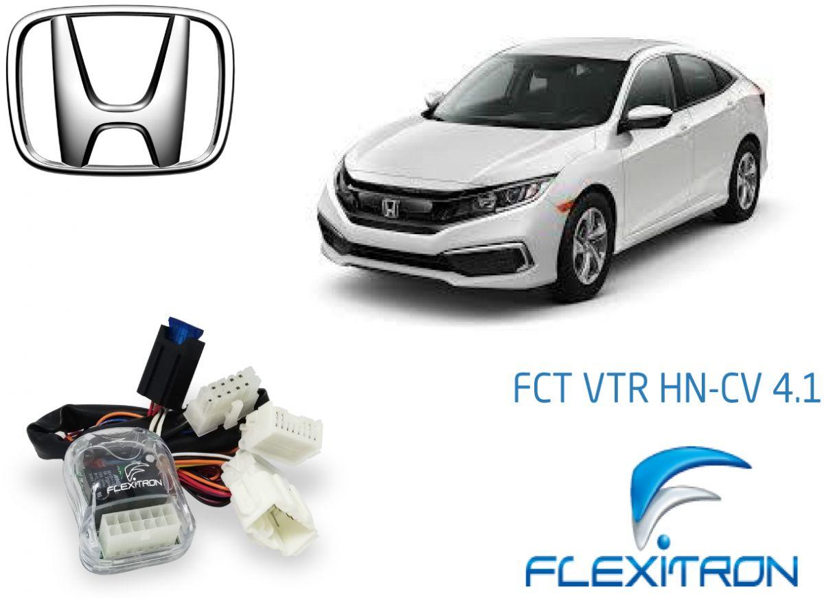 Central Flexitron FCT VTR HN-CV 4.1 - Automação de vidros elétricos retrovisores teto solar. HONDA C