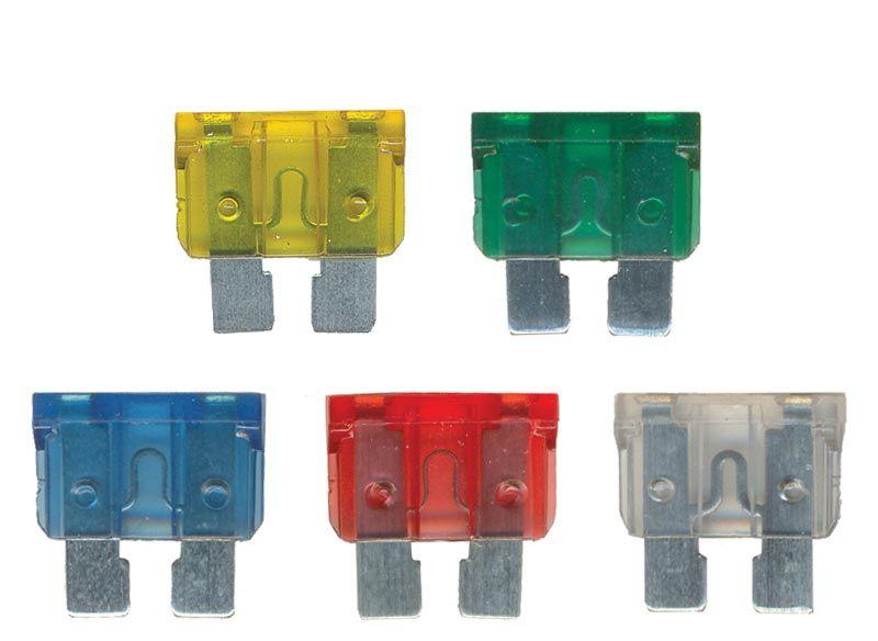 Fusível Lâmina - 5A, 10A, 15A, 20A, 25A, 30A e 40A