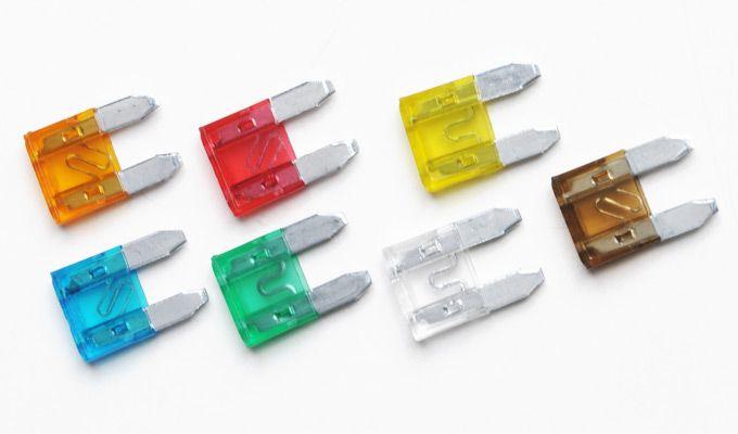 Fusível Lâmina Mini (Vampirinho) - 5A, 10A, 15A, 20A, 25A e 30A