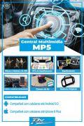 Kit Central Multimidia MP5, Moldura original e câmera de ré para Toro 2020