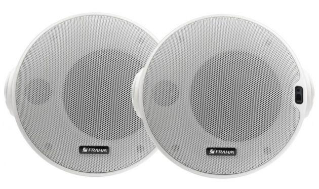 Kit Caixa de Som Acústica Ativa + Passiva Frahm CR BT 4″ - Bluetooth 4.0