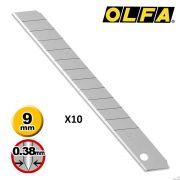Lâmina Para Estilete Olfa AB-50S 80 mm x 9mm x 0,38 mm