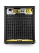 Caixa de Som Amplificada Frahm MF400 App 80W RMS Bluetooth Usb SD FM