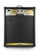 Caixa de Som Amplificada Frahm MF 800 App 200W RMS Bluetooth Usb SD FM